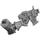 Warhammer 40k Bitz: Adeptus Sororitas - Seraphim Squad - Torso C3a - Bolt Pistol, Left