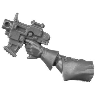Warhammer 40k Bitz: Adeptus Sororitas - Seraphim Squad - Torso E3a - Bolt Pistol, Left