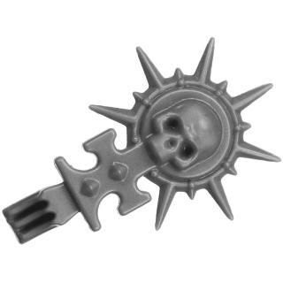 Warhammer 40k Bitz: Adeptus Sororitas - Seraphim Squad - Accessory A1e - Jump Pack, Top