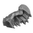 Warhammer 40k Bitz: Aeldari - Howling Banshees - Torso C3c - Kopf, Rechts