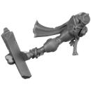 Warhammer 40k Bitz: Aeldari - Howling Banshees - Torso D2b - Bein, Rechts