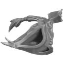 Warhammer 40k Bitz: Aeldari - Howling Banshees - Torso E3e - Kopf, Rechts, Exarch