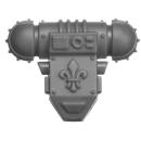 Warhammer 40k Bitz: Adeptus Sororitas - Battle Sisters Squad - Torso A4 - Backpack
