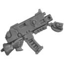 Warhammer 40k Bitz: Adeptus Sororitas - Battle Sisters Squad - Torso H6b - Boltgun, Right