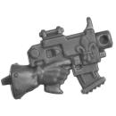 Warhammer 40k Bitz: Adeptus Sororitas - Battle Sisters Squad - Torso H6c - Boltpistole, Rechts
