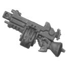 Warhammer 40k Bitz: Adeptus Sororitas - Battle Sisters Squad - Torso H6e - Condemnor Boltgun, Right
