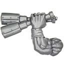 Warhammer 40k Bitz: Orks - Ork Stormboyz - Arm F -...