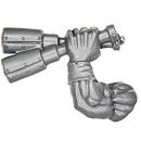 Warhammer 40k Bitz: Orks - Ork Stormboyz - Arm F - Stikkbombz, Links
