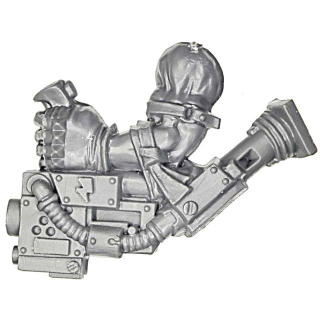 Warhammer 40k Bitz: Orks - Ork Stormboyz - Arm H - Unterarmknarre, Links