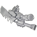 Warhammer 40k Bitz: Orks - Ork Stormboyz - Arm I - Under-Arm-Saw, Right