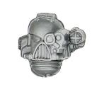 Warhammer 40k Bitz: Space Marines - Command Squad - Head...
