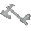 Warhammer AoS Bitz: CHAOS - 009 - Krieger - Axt A