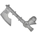 Warhammer AoS Bitz: CHAOS - 009 - Krieger - Axt D Champion