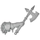 Warhammer AoS Bitz: CHAOS - 009 - Krieger - Axt E Champion