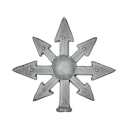 Warhammer AoS Bitz: CHAOS - 009 - Krieger - Accessoire E - Bannerspitze I