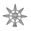 Warhammer AoS Bitz: CHAOS - 009 - Krieger - Accessoire F - Bannerspitze II