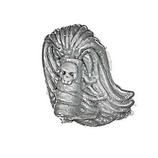Warhammer AoS Bitz: CHAOS - 009 - Krieger - Accessoire B - Haar II, Champion