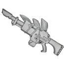 Warhammer 40k Bitz: Imperial Guard - Catachan Heavy Weapon Squad - Lasgun