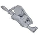 Warhammer 40k Bitz: Catachanischer Kommandotrupp - Lasergewehr C mit Arm
