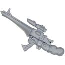 Warhammer 40k Bitz: Eldar - Asuryans Rächer - Waffe L - Shurikenkatapult, Exarch, Rechts
