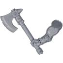 Warhammer AoS Bitz: CHAOS - Barbaren - Waffe B - Axt II