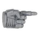 Warhammer 40k Bitz: Grey Knights - Grey Knight Trupp - Arm B - Hand II