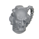Warhammer 40k Bitz: Grey Knights - Grey Knight Trupp - Kopf A