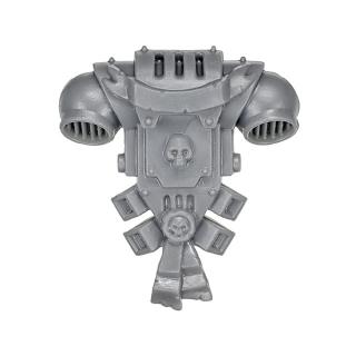 Warhammer 40k Bitz: Grey Knights - Grey Knight Trupp - Rückenmodul C