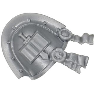 Warhammer 40k Bitz: Grey Knights - Grey Knight Trupp - Schulterpanzer A