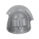 Warhammer 40k Bitz: Grey Knights - Grey Knight Trupp - Schulterpanzer D
