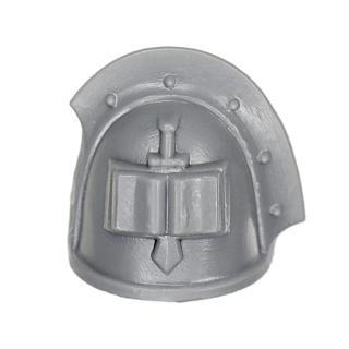 Warhammer 40k Bitz: Grey Knights - Grey Knight Trupp - Schulterpanzer F