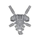 Warhammer 40k Bitz: Grey Knights - Grey Knight Trupp - Rückenmodul F - Teleportmodul