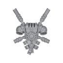 Warhammer 40k Bitz: Grey Knights - Grey Knight Trupp - Rückenmodul G - Teleportmodul