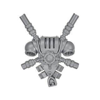 Warhammer 40k Bitz: Grey Knights - Grey Knight Trupp - Rückenmodul H - Teleportmodul