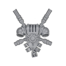 Warhammer 40k Bitz: Grey Knights - Grey Knight Squad - Backpack H - Teleporter