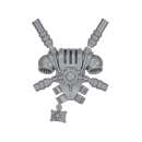 Warhammer 40k Bitz: Grey Knights - Grey Knight Squad - Backpack I - Teleporter