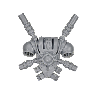 Warhammer 40k Bitz: Grey Knights - Grey Knight Trupp - Rückenmodul J - Teleportmodul