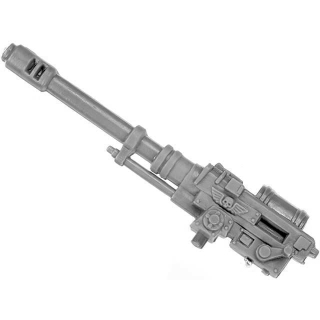 Warhammer 40k Bitz: Imperial Guard - Imperial Heavy Weapon Squad - Weapon D1 - Autocannon