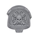 Warhammer 40k Bitz: Dark Angels - Deathwing Terminators - Shoulder Pad E Sergeant