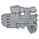 Warhammer 40k Bitz: Space Marines - Kommandant der Space Marines - Plasmapistole