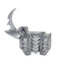 Warhammer 40k Bitz: Dark Eldar - Hagashin - Torso N - Rückseite