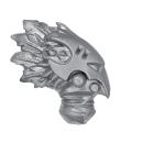 Warhammer 40k Bitz: Dark Eldar Scourges Head D