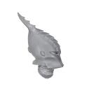 Warhammer 40k Bitz: Dark Eldar - Kabalite Warriors - Head H