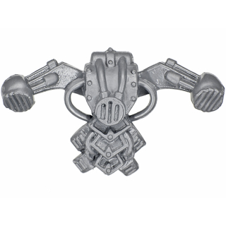 Warhammer 40K Bitz: Chaos Space Marines - Khorne Berzerkers - Backpack C