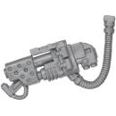 Warhammer 40k Bitz: Space Marines - Dreadnought - Flame...