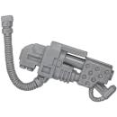 Warhammer 40k Bitz: Space Marines - Cybot - Flammenwerfer