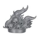 Warhammer AoS Bitz: VAMPIRFÜRSTEN - 003 - Leichenkarren - Brennende Schädel