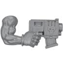 Warhammer 40k Bitz: Orks - Orkboyz-Trupp - Waffe F - Knarre