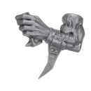 Warhammer 40k Bitz: Orks - Ork Waaaghbikes - Fahrer Arm - Links, Bikeboss