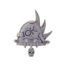 Warhammer 40K Bitz: Chaos Space Marines - Chaos Space Marines - Shoulder Pad K - Slaanesh